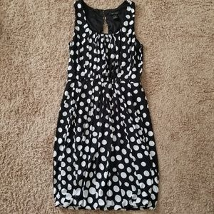 White House Black Market polka dot dress